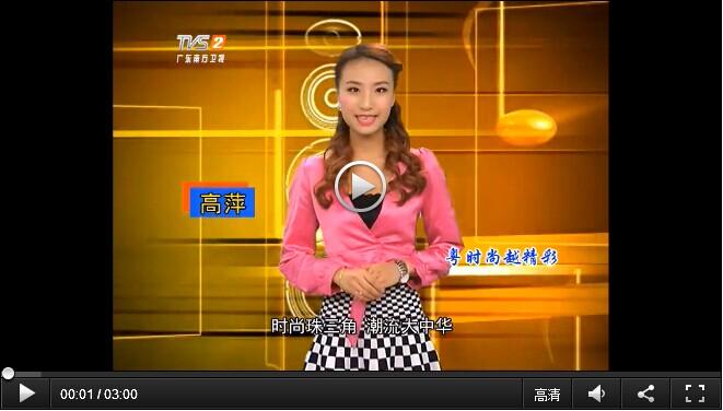 英硕总经理贺海英接受南方卫视采访并报道