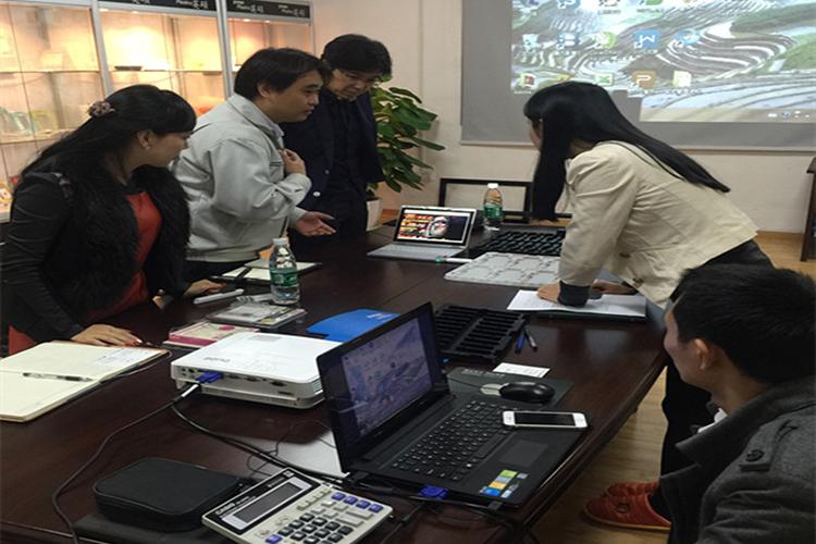 日本医械客户远道而来,英硕包装全程接待