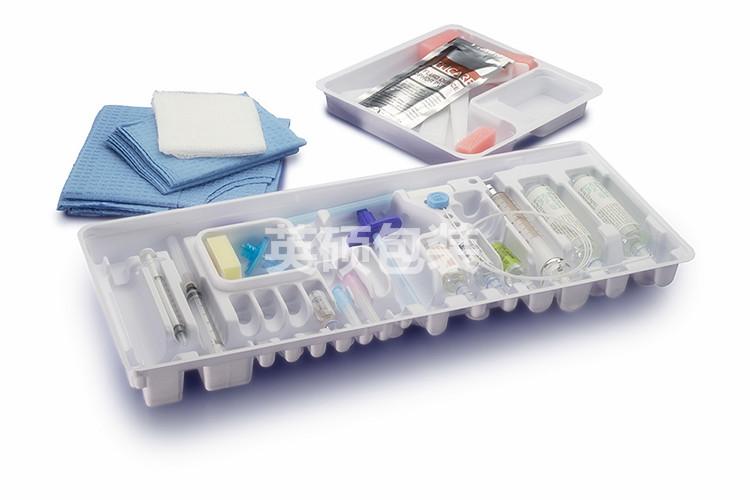 HIPS注射药液医用吸塑托盘